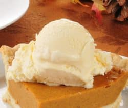 oven baked pumpkin pie recipe