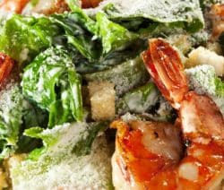 easy caesar salad with shrimp recipe