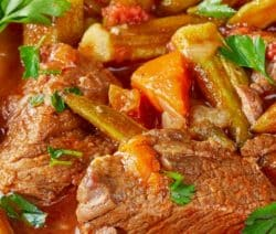 crock pot hearty beef stew recipe