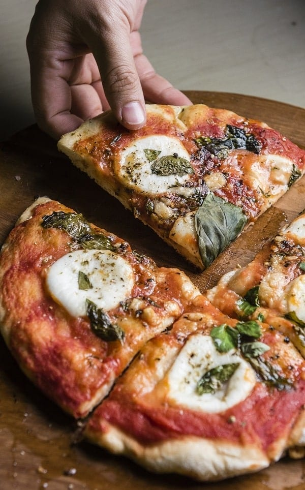 oven baked easy vegetarian pizza recipe