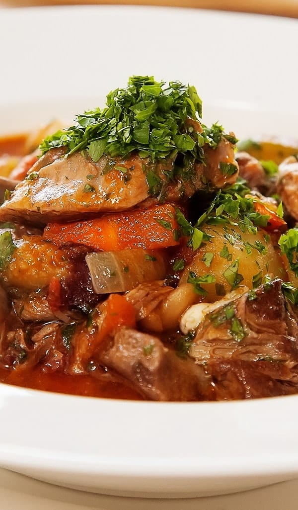 slow cooker big beef stew recipe