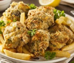 best cooked oysters (french-fried style)