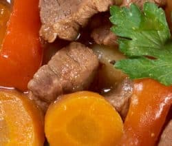 slow cooker vegetable beef stew recipe