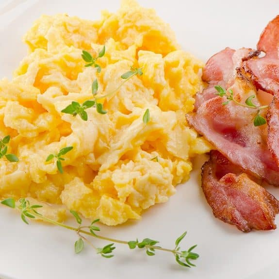 basic scrambled eggs recipe