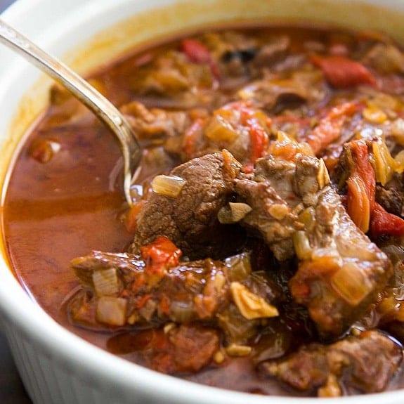 oven cooked lamb stew