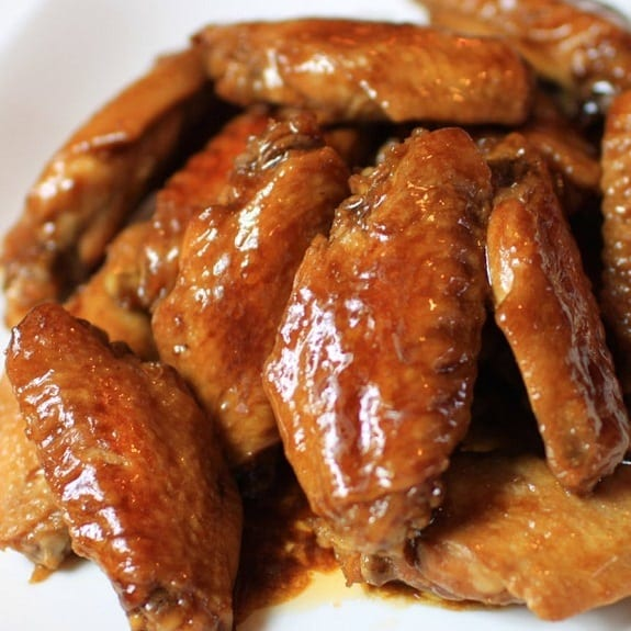 soy chicken wings