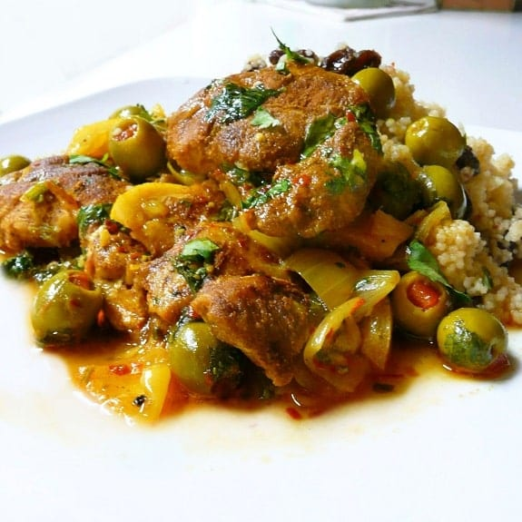 baked chicken tagine