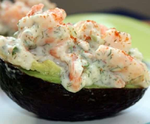 shrimp-stufeed avocado
