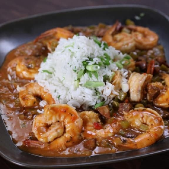 slow cooker shrimp louisiana-style