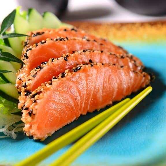 classic seared salmon sashimi recipe