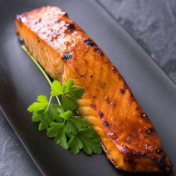 oven baked hoisin orange salmon
