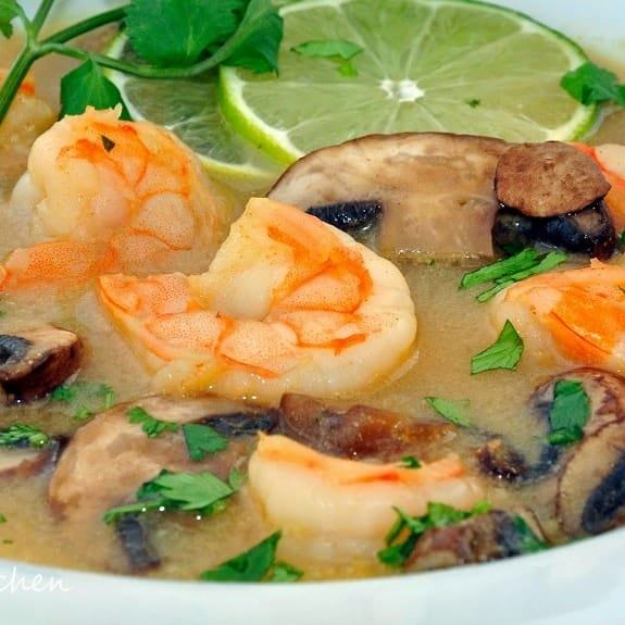 spicy shrimp stew