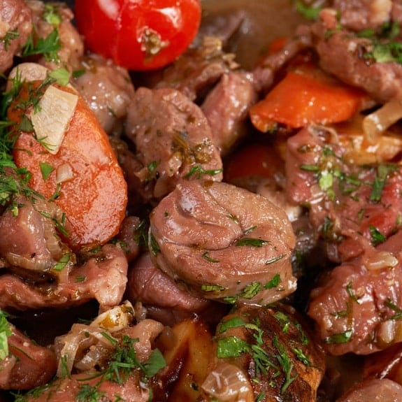baked lamb and apricot casserole