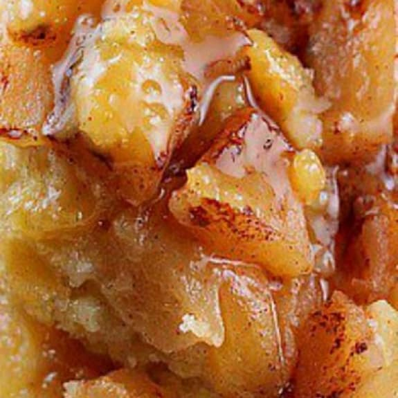slow cooker apple pudding cake