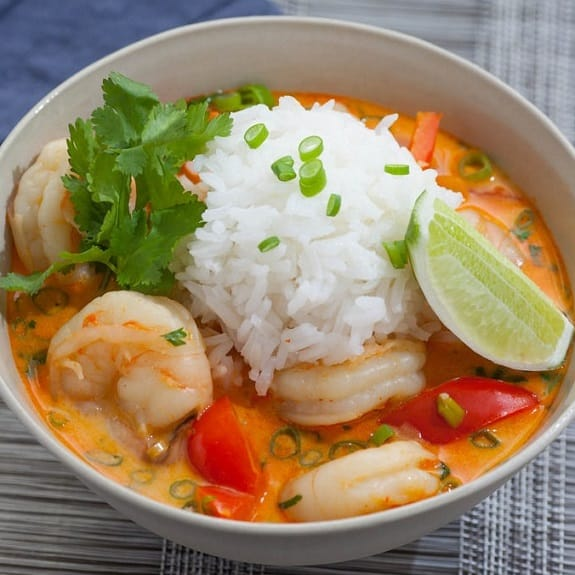 slow cooker spicy shrimp and rice stew