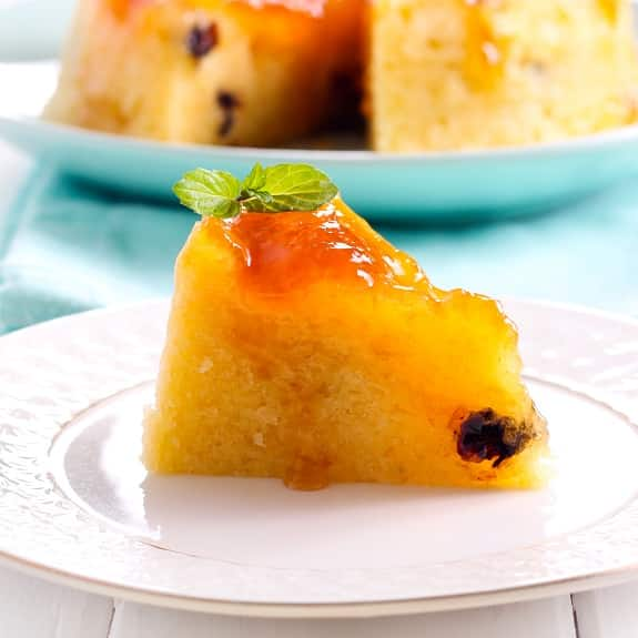 slow cooker steamed marmalade pudding