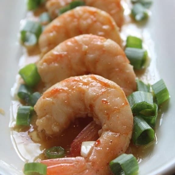 slow cooker barbecued shrimp