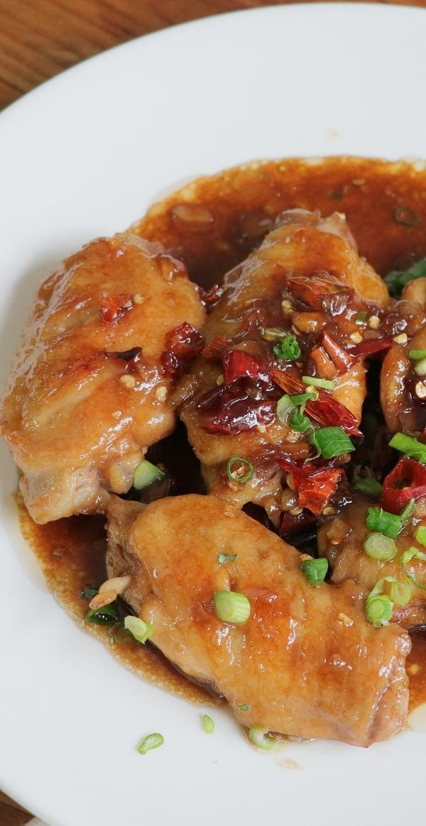 pressure cooker coca cola chicken wings