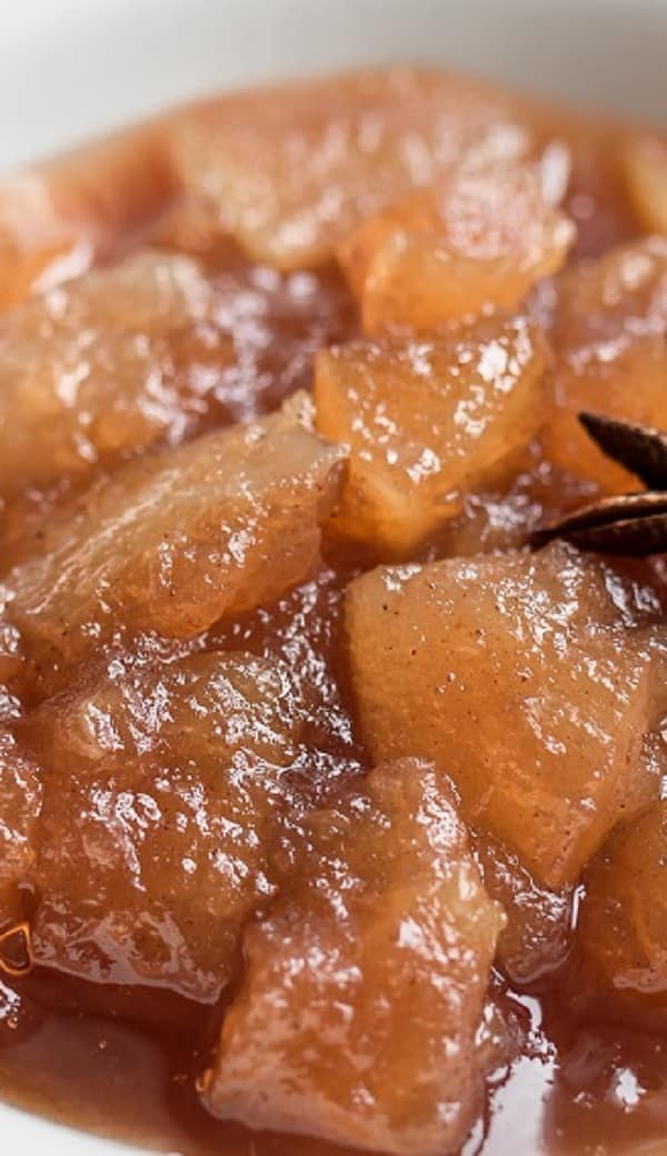slow cooker chunky apple sauce