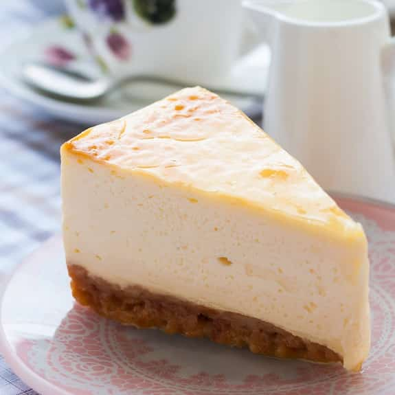 pressure cooker new york-style cheesecake