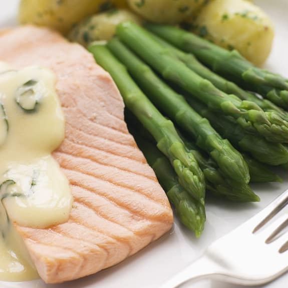 pressure cooker poached salmon fillets