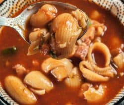 easy pasta bean soup recipe