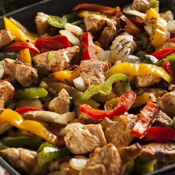 pressure cooker chicken fajitas