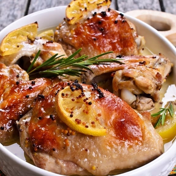 easy oven baked chicken recipe