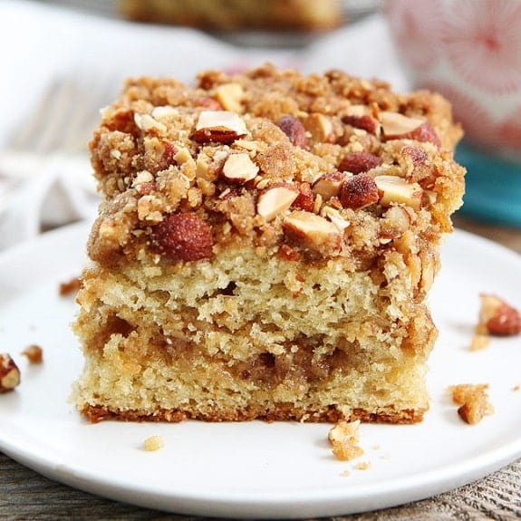 slow cooker easy almond coffee cake recipe
