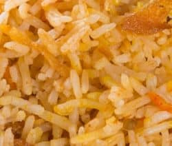 easy vegetarian flavored rice recipe
