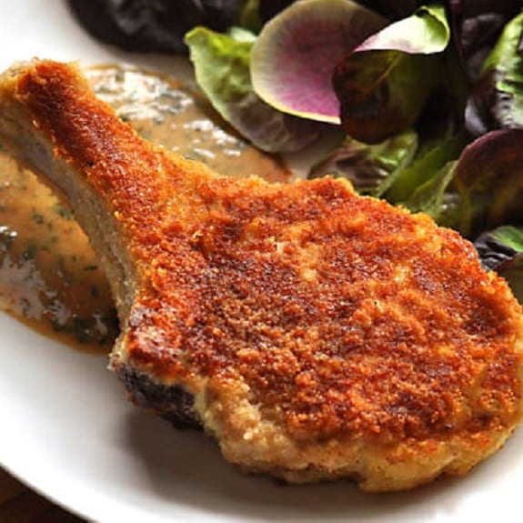 fried veal chops parmesan recipe
