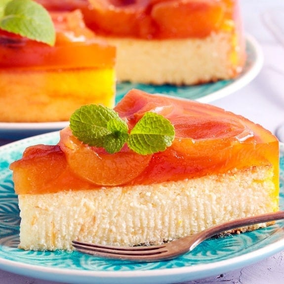 oven baked apricot cheesecake recipe