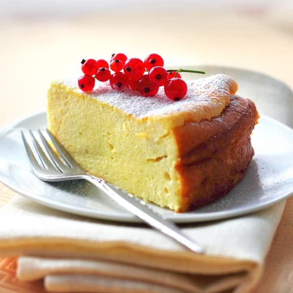 oven baked ricotta cheesecake recipe