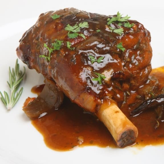 oven baked lamb shanks rosemary recipe