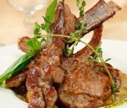 broiled hot honeyed lamb steaks recipe