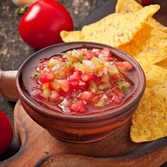 homemade classic tomato salsa recipe