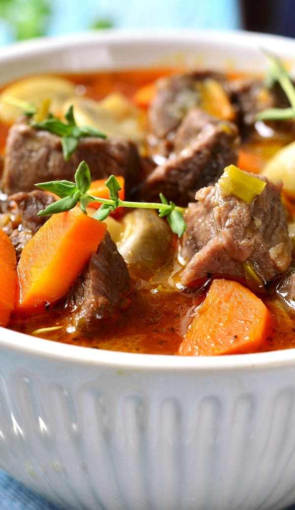 pressure cooker lamb stew recipe