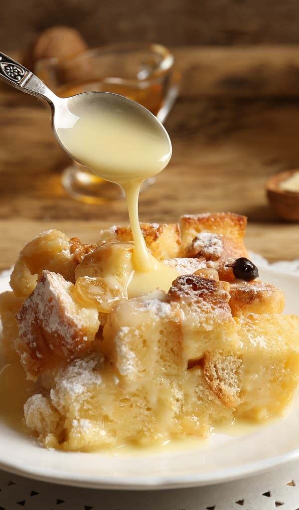slow cooker breakfast bread pudding recipe