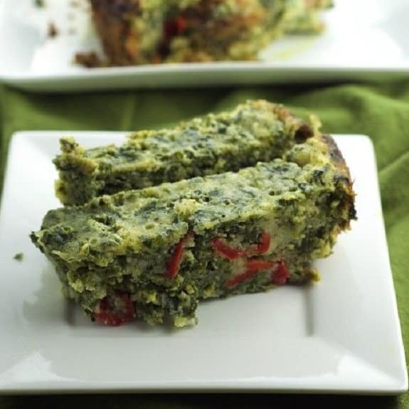 slow cooker spinach spoon bread recipe