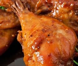 pressure cooker braised honey-lemon chicken recipe