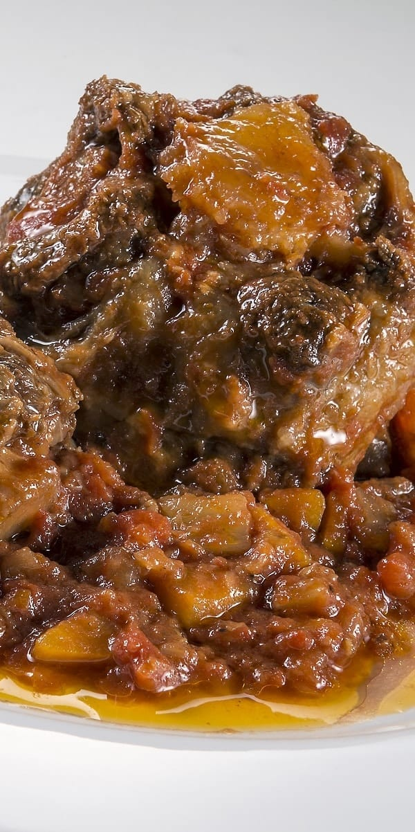 pressure cooker spicy oxtail stew recipe