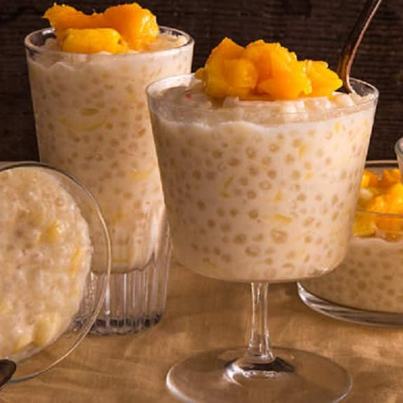 slow cooker mango tapioca pudding recipe