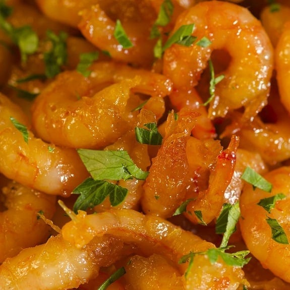 pan-fried honey garlic shrimp recipe