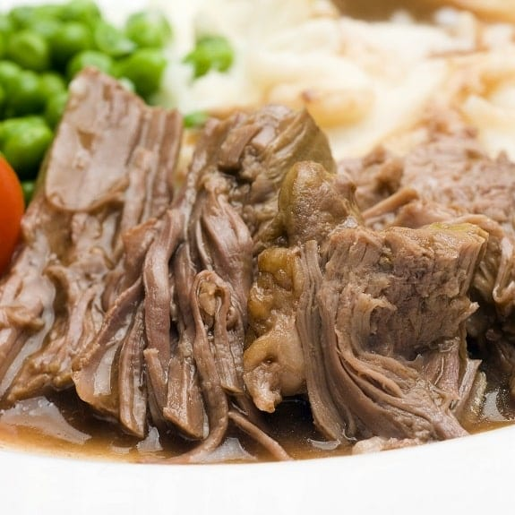 slow cooker herbed beef pot roast recipe
