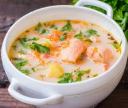 slow cooker salmon bisque recipe