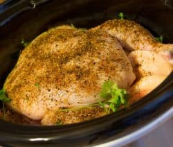 crock pot lemon garlic chicken recipe