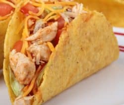 slow cooker enchilada chicken tacos recipe