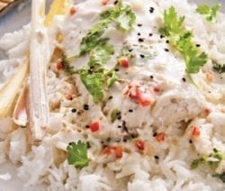 instant pot coconut-poached mahi-mahi recipe