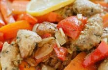 chicken with vegetables recipe (slow cooker)