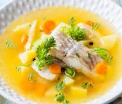 slow cooker vegetable fish stew recipe